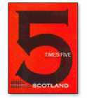 Five times Five Scotland Book by Peter Duffie
